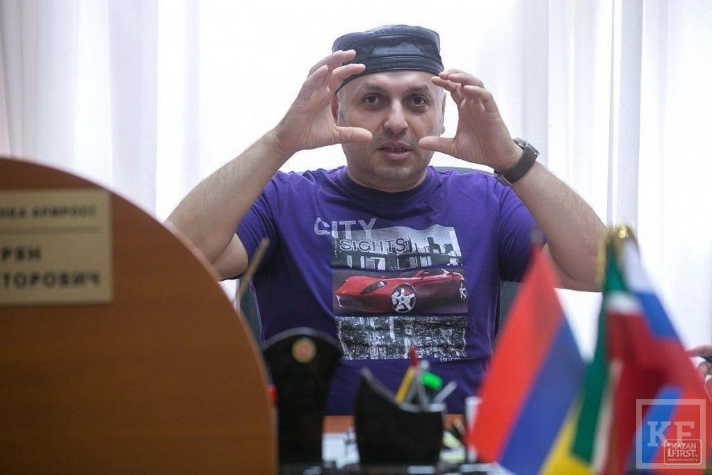 Михаил Хачатурян: «Со времен Волжской Булгарии армяне здесь жили и строили»
