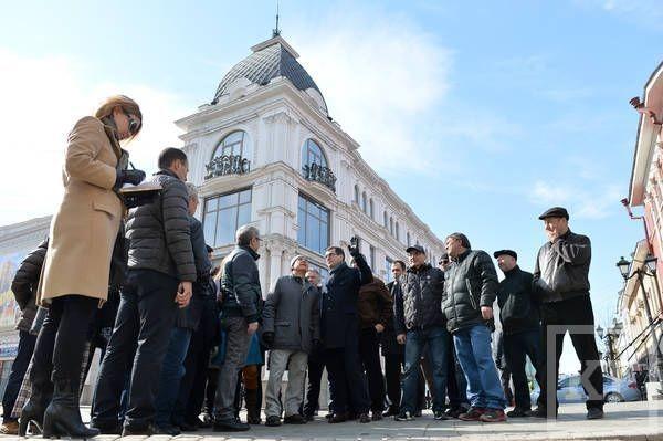 Рустам Минниханов прошелся по историческому центру Казани