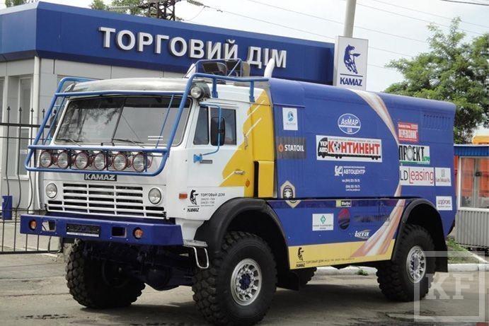 Как «Камаз» выехал с революционной Украины