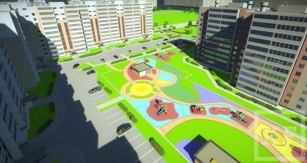 В Челнах появится жилой комплекс «Янтарный»