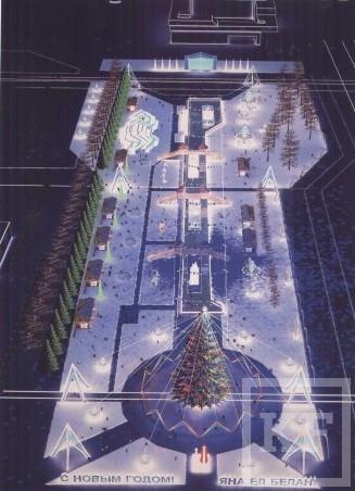 В этом году исполком Челнов изменит дизайн центральной елки
