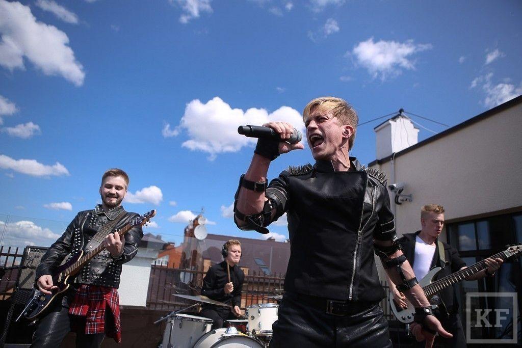 Под стенами Кремля презентовали гимн проекта I Love Kazan
