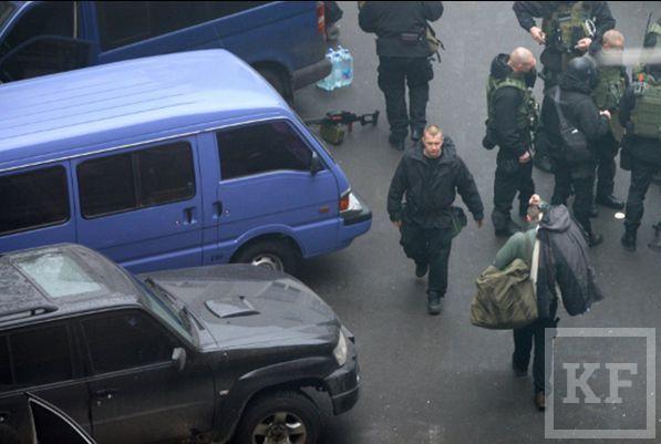 Американские СМИ опубликовали фотографии снайперов с майдана