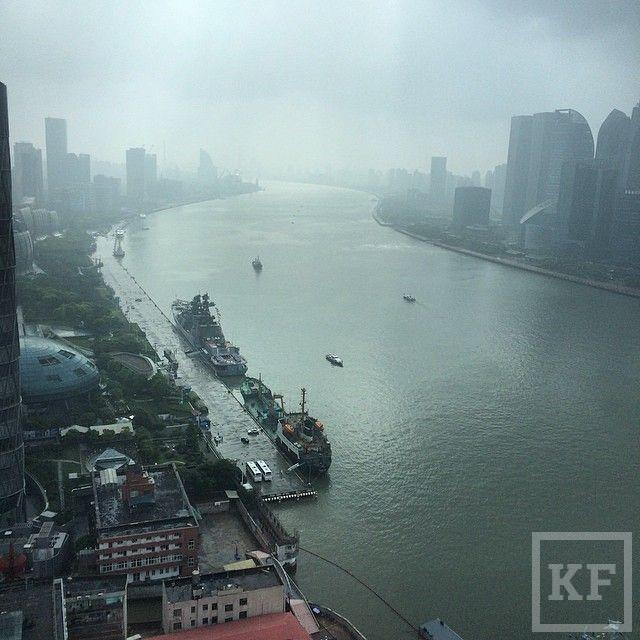 Instagram Минниханова: Шанхай