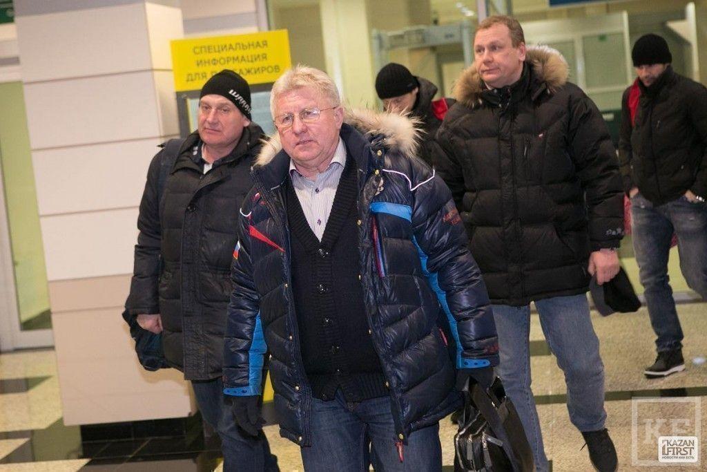 В Казань прибыла олимпийская сборная России по хоккею