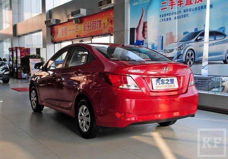 В Казани скоро появится новый Hyundai Solaris?