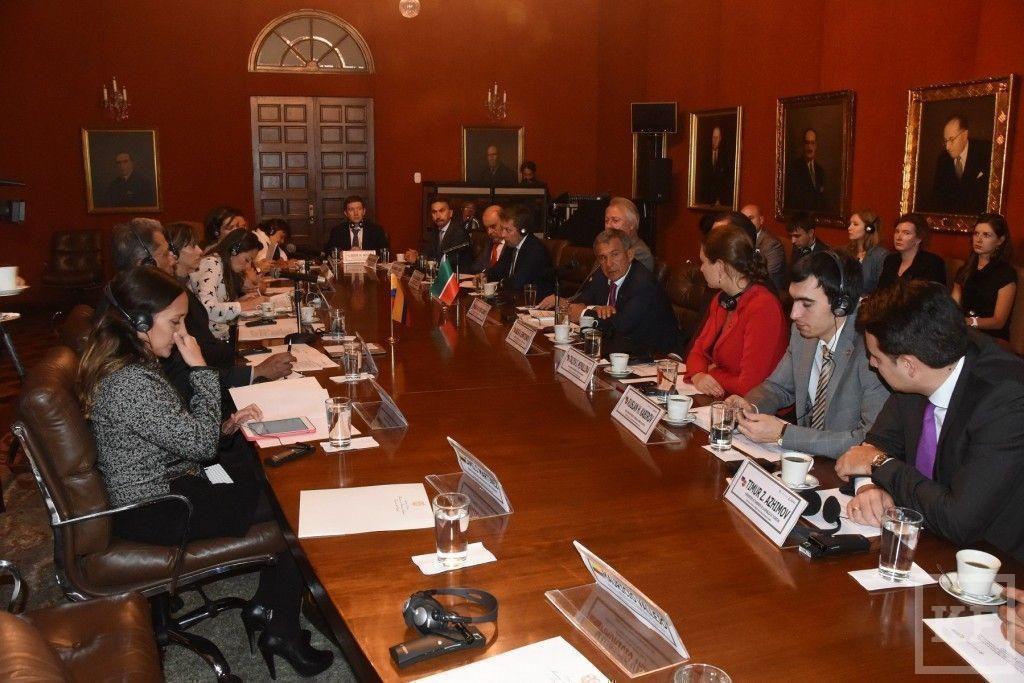 Рустам Минниханов: колумбийские инвесторы будут заинтересованы в инвестировании в экономику Татарстана