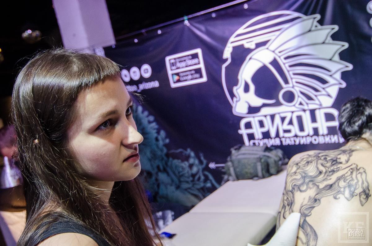 «Ты у меня под кожей»: в Казани прошёл IV фестиваль татуировок