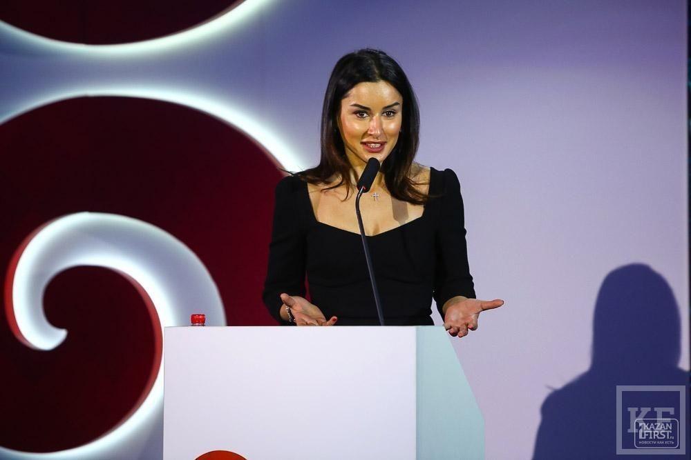 Тина Канделаки представила в Казани результат годовой работы над брендом Татарстана