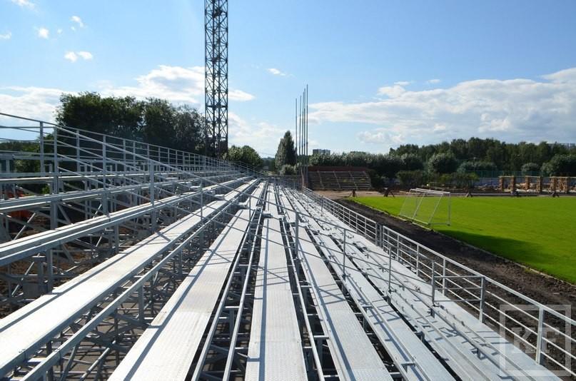 Стадион «Камаз» реконструируют к концу августа