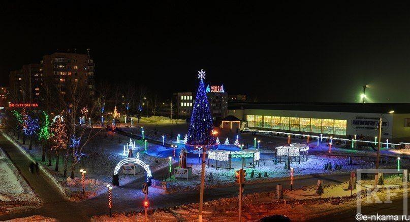 Как Нижнекамск готовится к Новому году