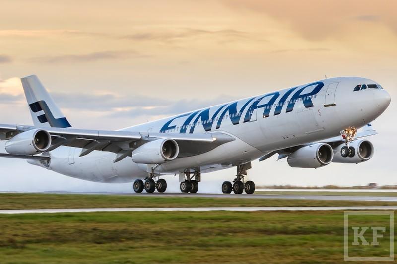 Finnair прекращает полеты в Казань из-за низкого спроса