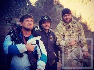 Кадыров нокаутировал Тимати на ринге