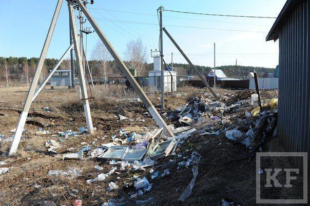 Дачный сезон в Нижнекамске: кто должен вывозить мусор из деревень