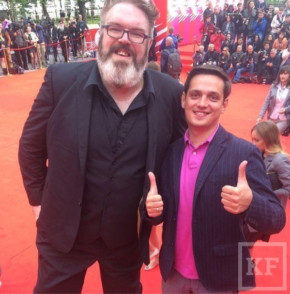 Актер из сериала «Игра престолов» приехал на Московский кинофестиваль