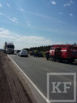 В ДТП с участием «Камаза» на трассе «Елабуга- Пермь» погибли два человека