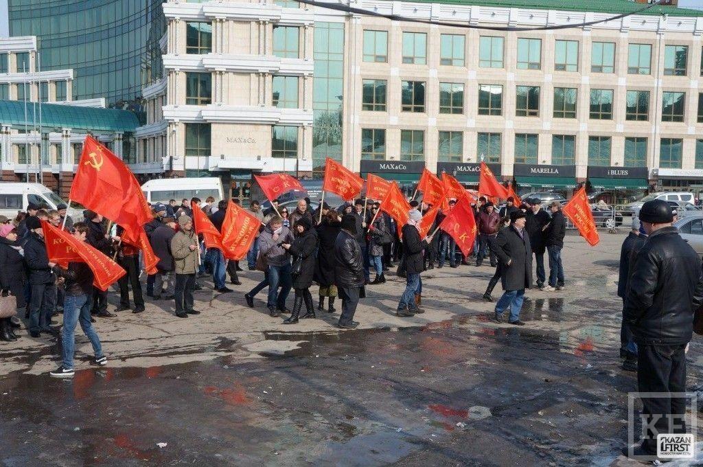 Активисты партии «Коммунисты России» провели митинг в поддержку жителей Новой Сосновки