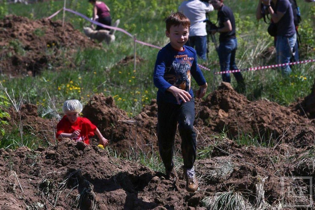 В Казани в третий раз прошел турнир «Грязный бег»