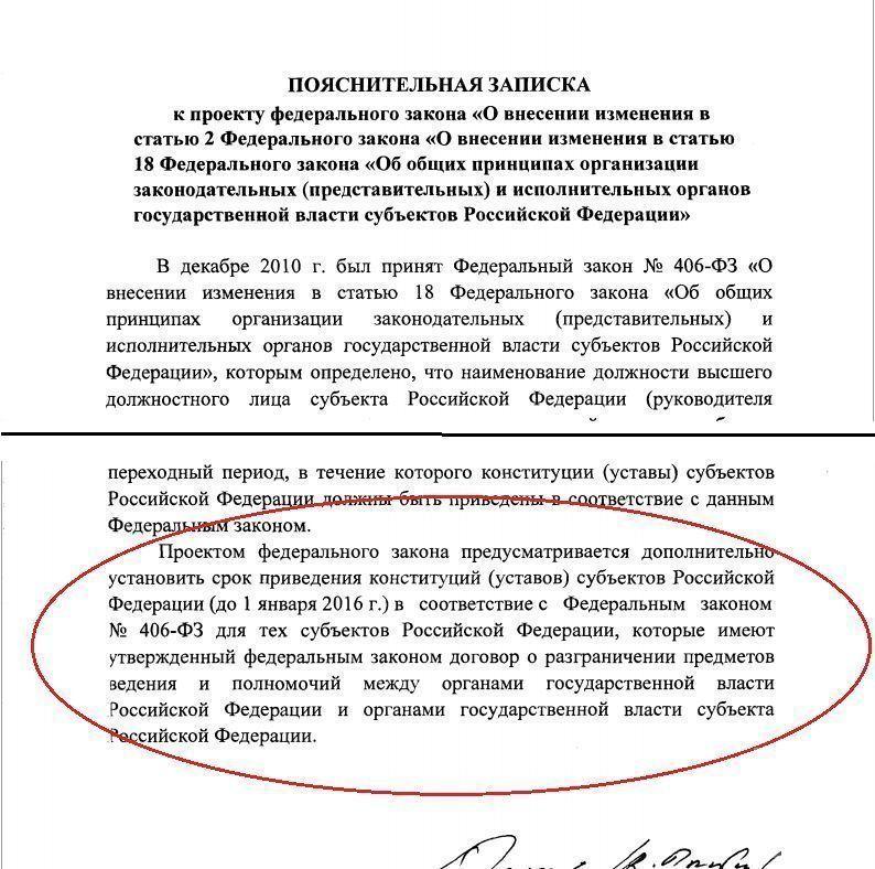 Поправка для Минниханова: руководитель Татарстана может именоваться президентом республики до 1 января 2016 года