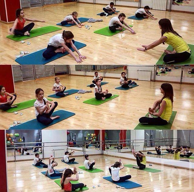 X-Fit в Казани запустил услугу детского фитнеса