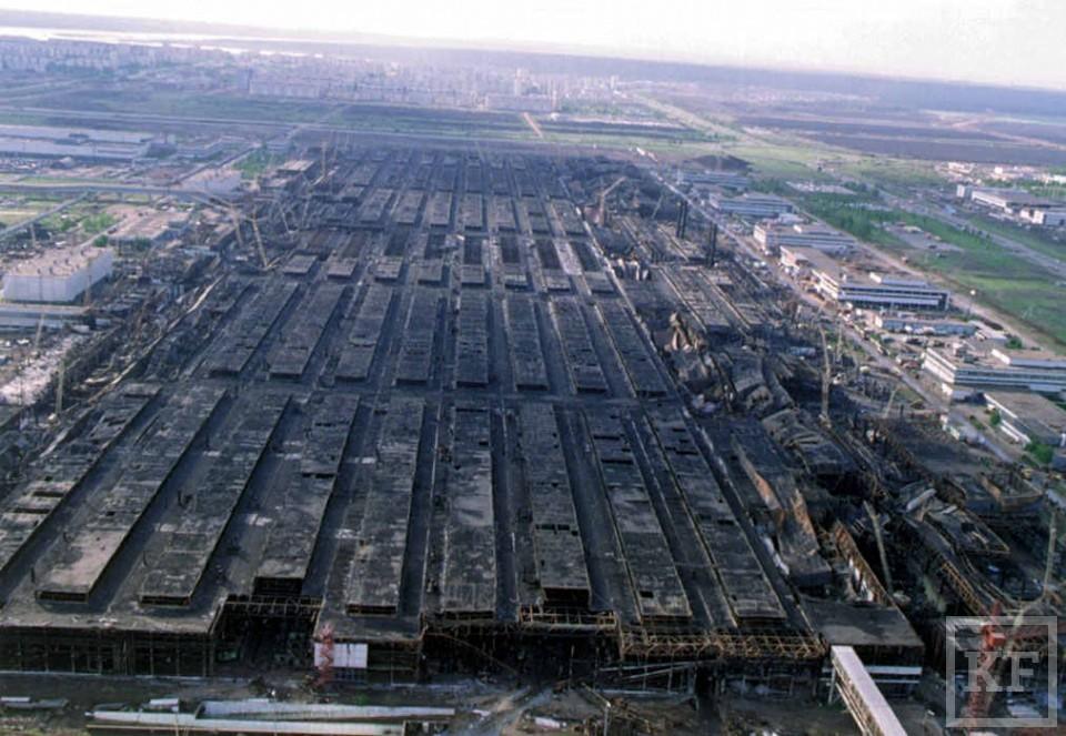 На Литейном заводе «Камаза» произошел пожар