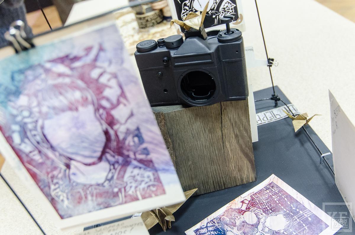 В Казани проходит биеннале печатной графики
