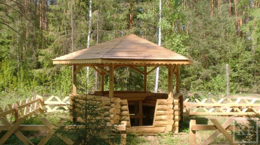130 крытых беседок будут установлены в лесах Татарстана