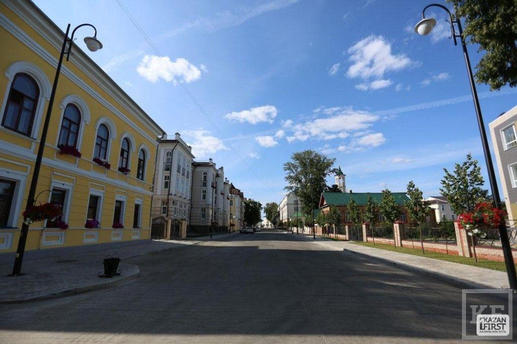 Улица Каюма Насыри после реконструкции