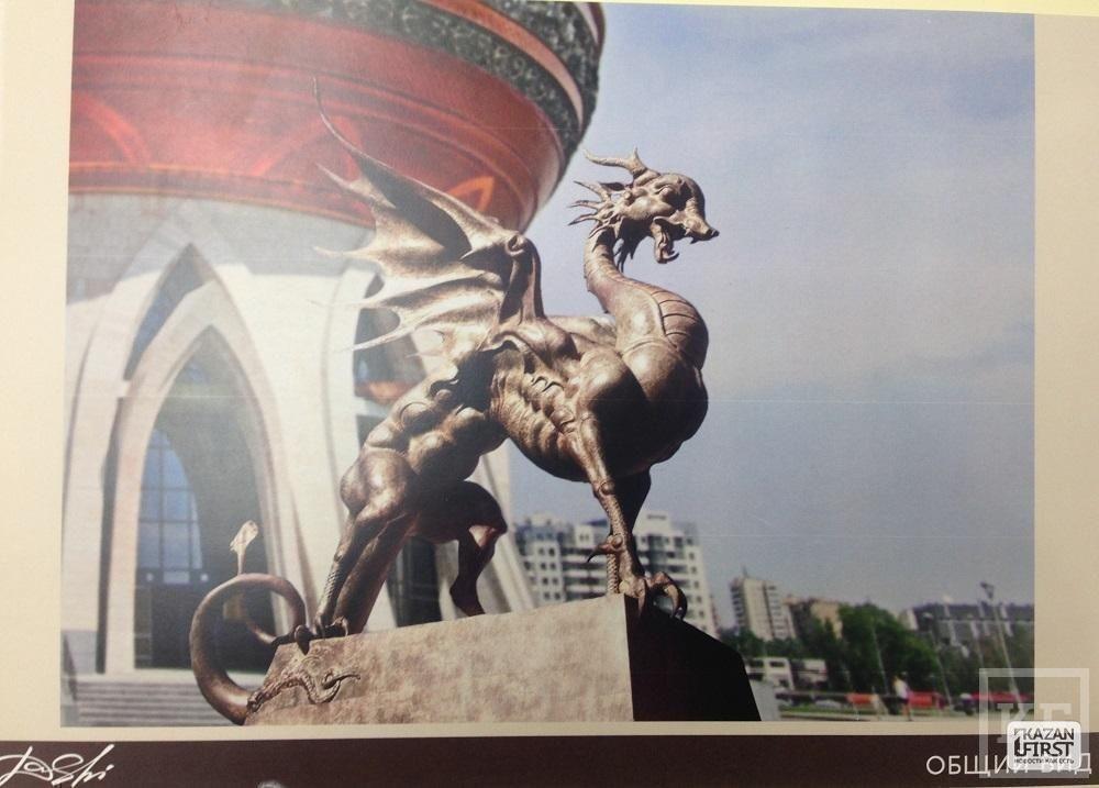Перед входом в «чашу», где расположен Дворец бракосочетания, хотят поставить неоднозначные скульптуры Даши Намдакова