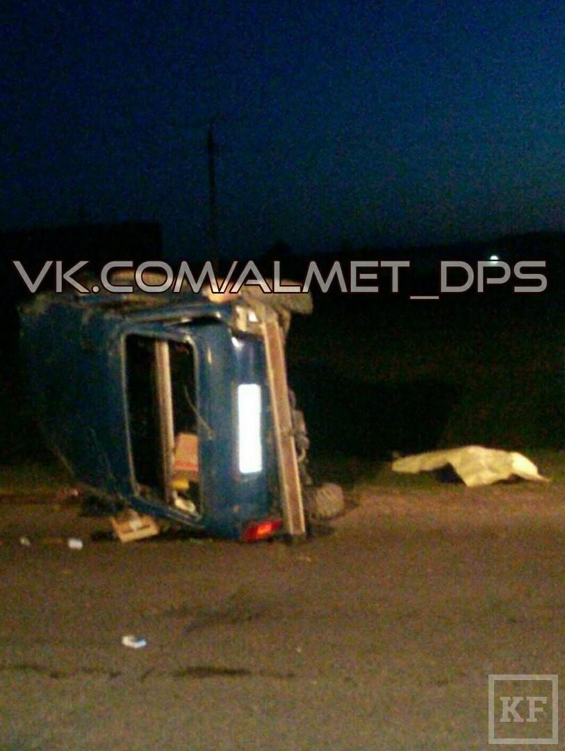 В Татарстане погиб пассажир «Нивы», вылетевшей на на обочину