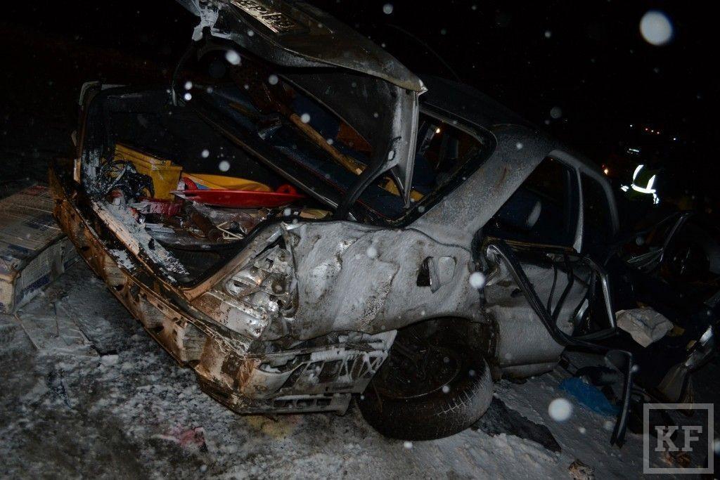 Среди погибших в жуткой аварии под Чистополем было трое детей