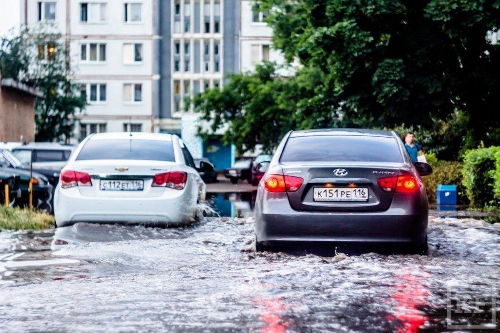 Новые последствия урагана в Набережных Челнах