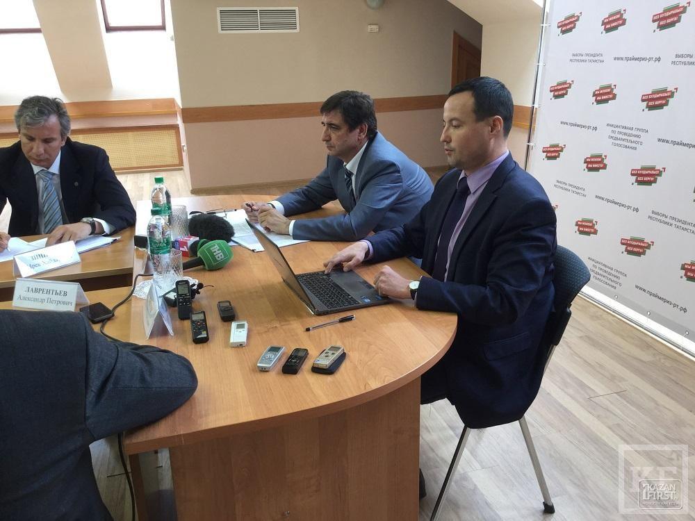 Общественники Татарстана объявили предварительное выдвижение кандидатов на выборы президента РТ