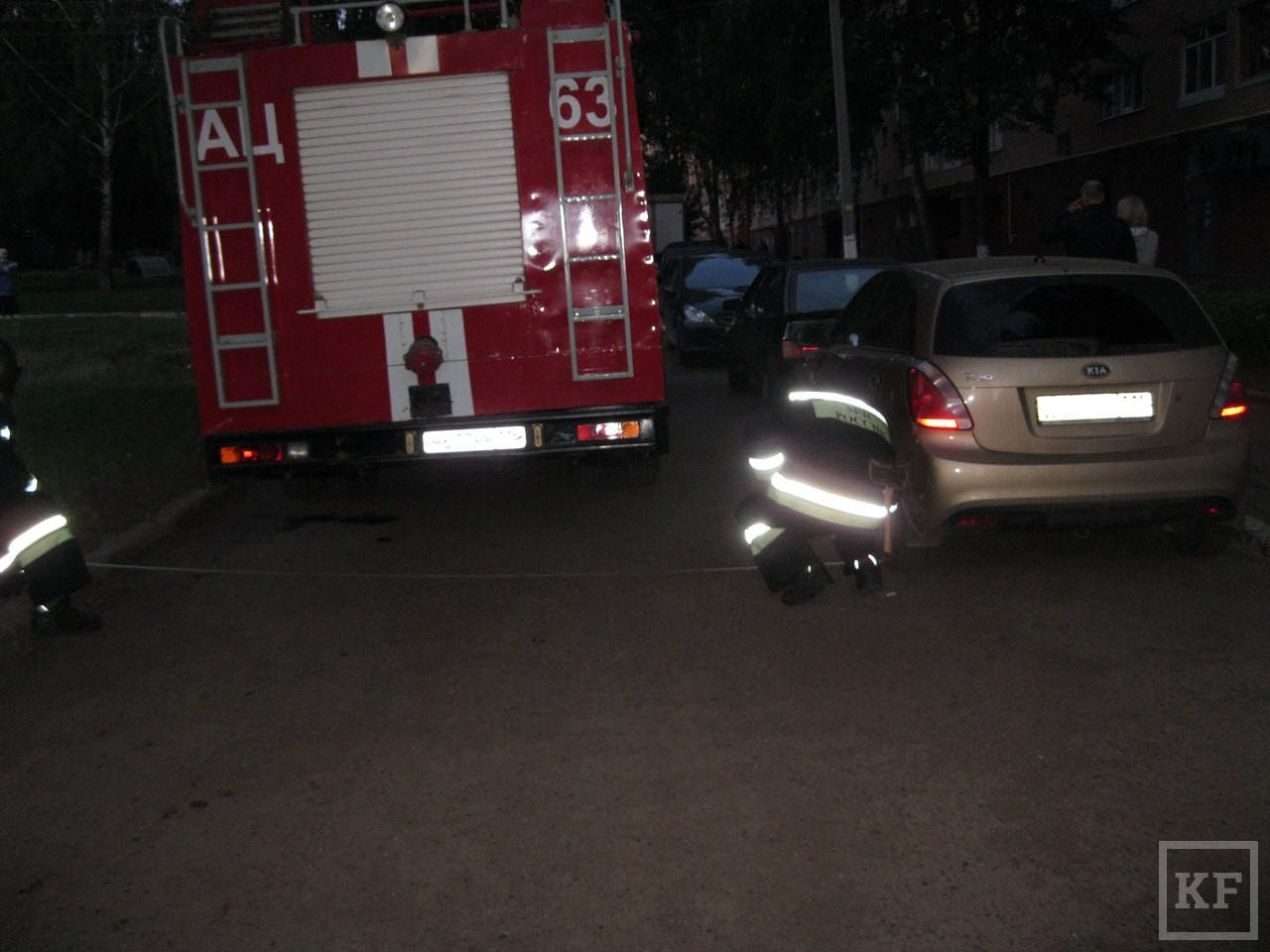 Неправильно припаркованная машина может стоить жизни