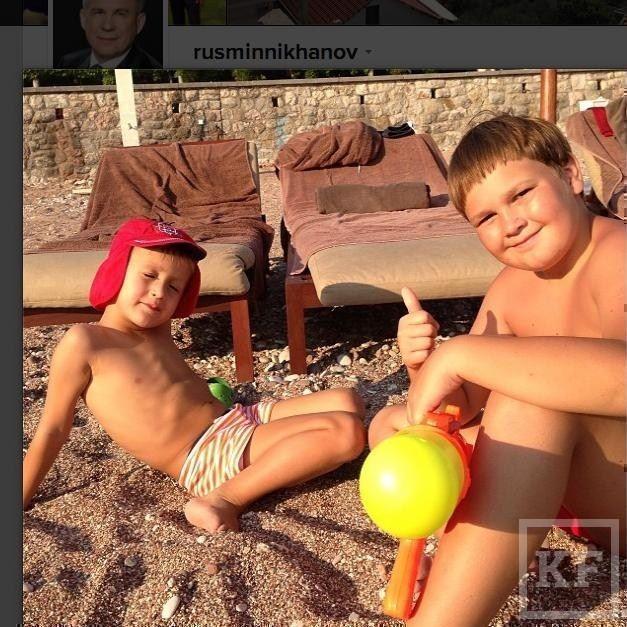 Рустам Минниханов выложил в Instagram несколько фото с отпуска [фото]