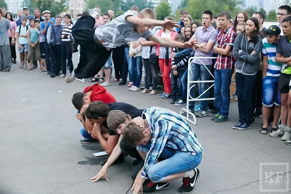 В Нижнекамке состоялись соревнования по звуковому давлению
