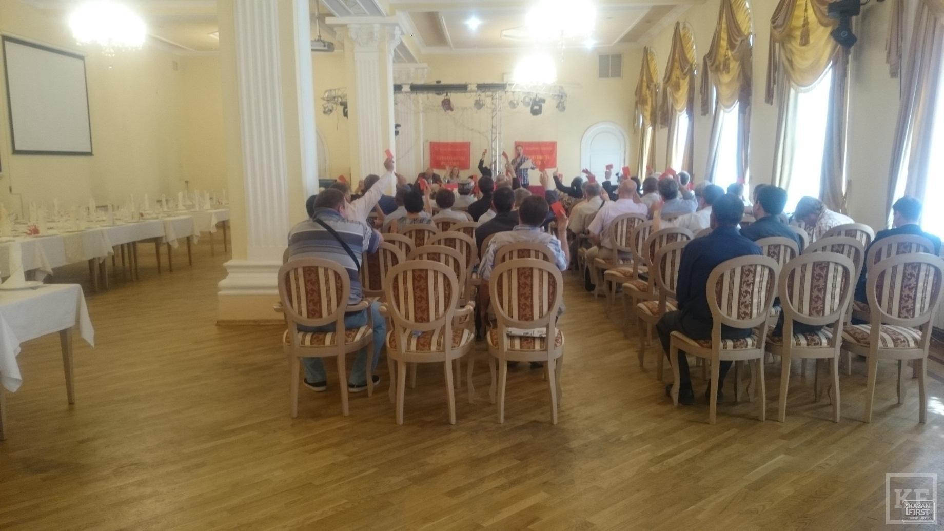 «Коммунисты России» планируют получить больше 5% в четырех крупнейших городах Татарстана