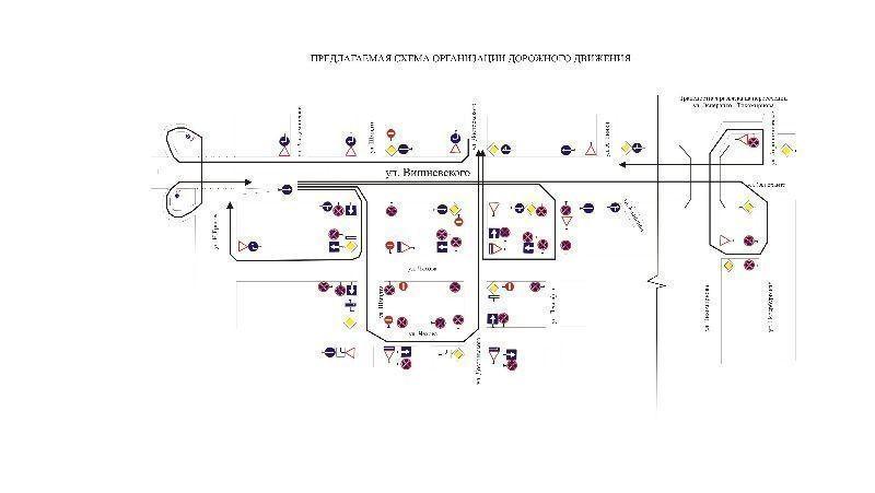 ГИБДД МВД по РТ опубликовала подробную схему движения по перекрёсткам Казани, где отменён левый поворот