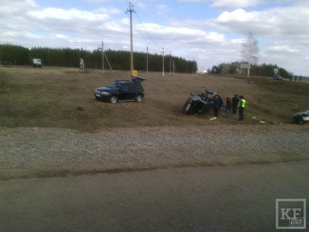 Тяжелая авария произошла на трассе Бугульма – Альметьевск, есть погибшие