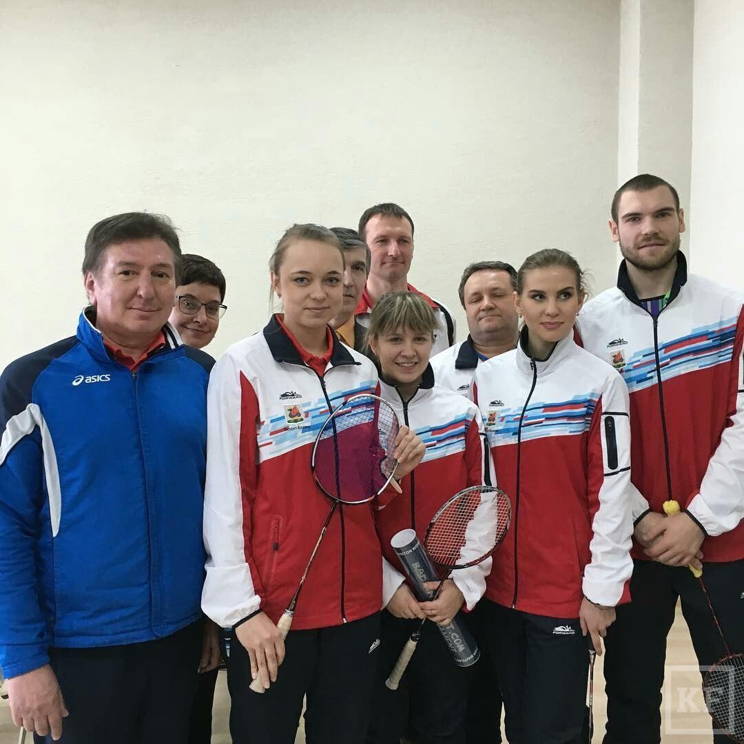 Минниханов «Вконтакте»: открытие Центра бадминтона в Казани