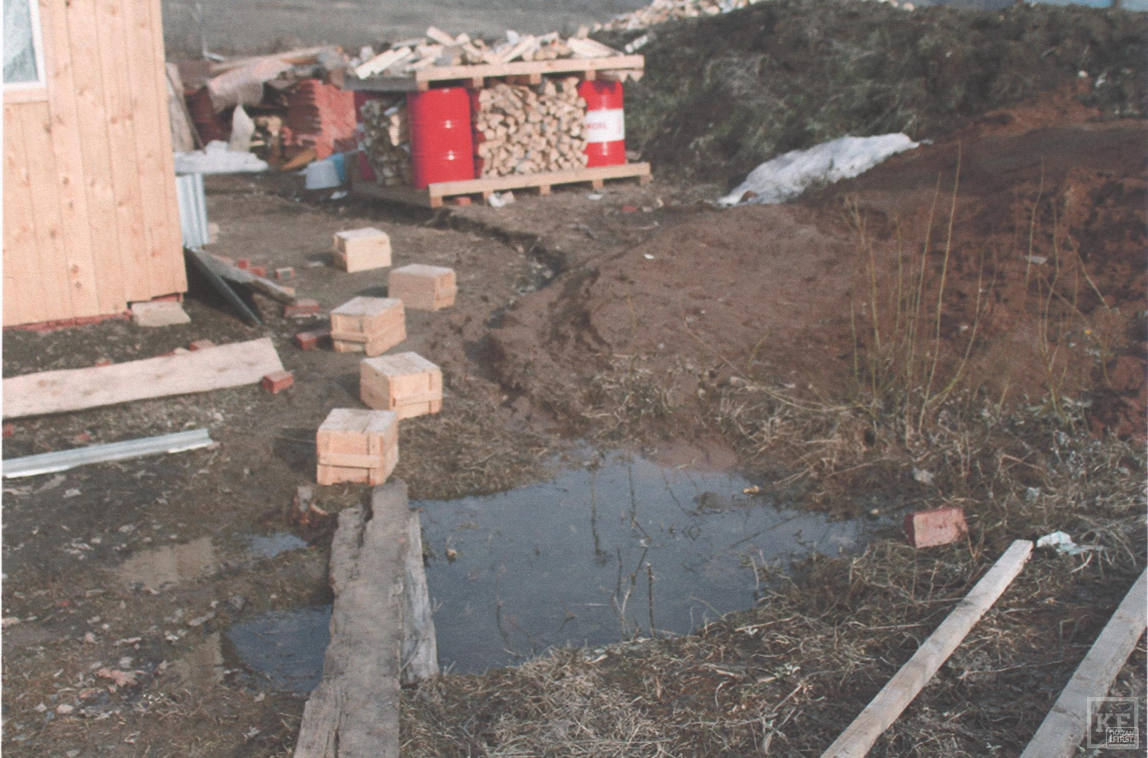 Экологическое бедствие в Малой Шильне: жители боятся, что их дома провалятся под землю