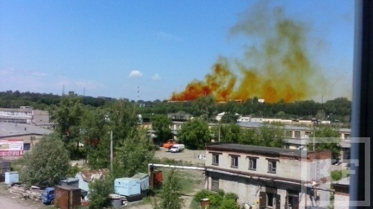 Среди экспертов нет единодушия по поводу опасности дыма над Пороховым заводом