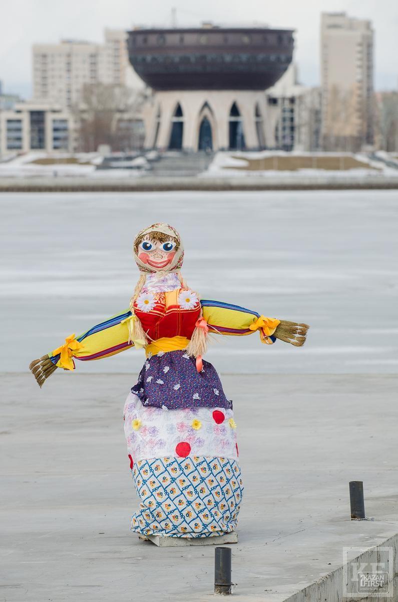 Проводы зимы в Казани: в столице РТ прошла традиционная Масленица
