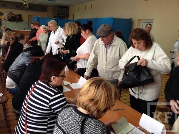 В Горловке Донецкой области 50 человек проголосовали на референдуме