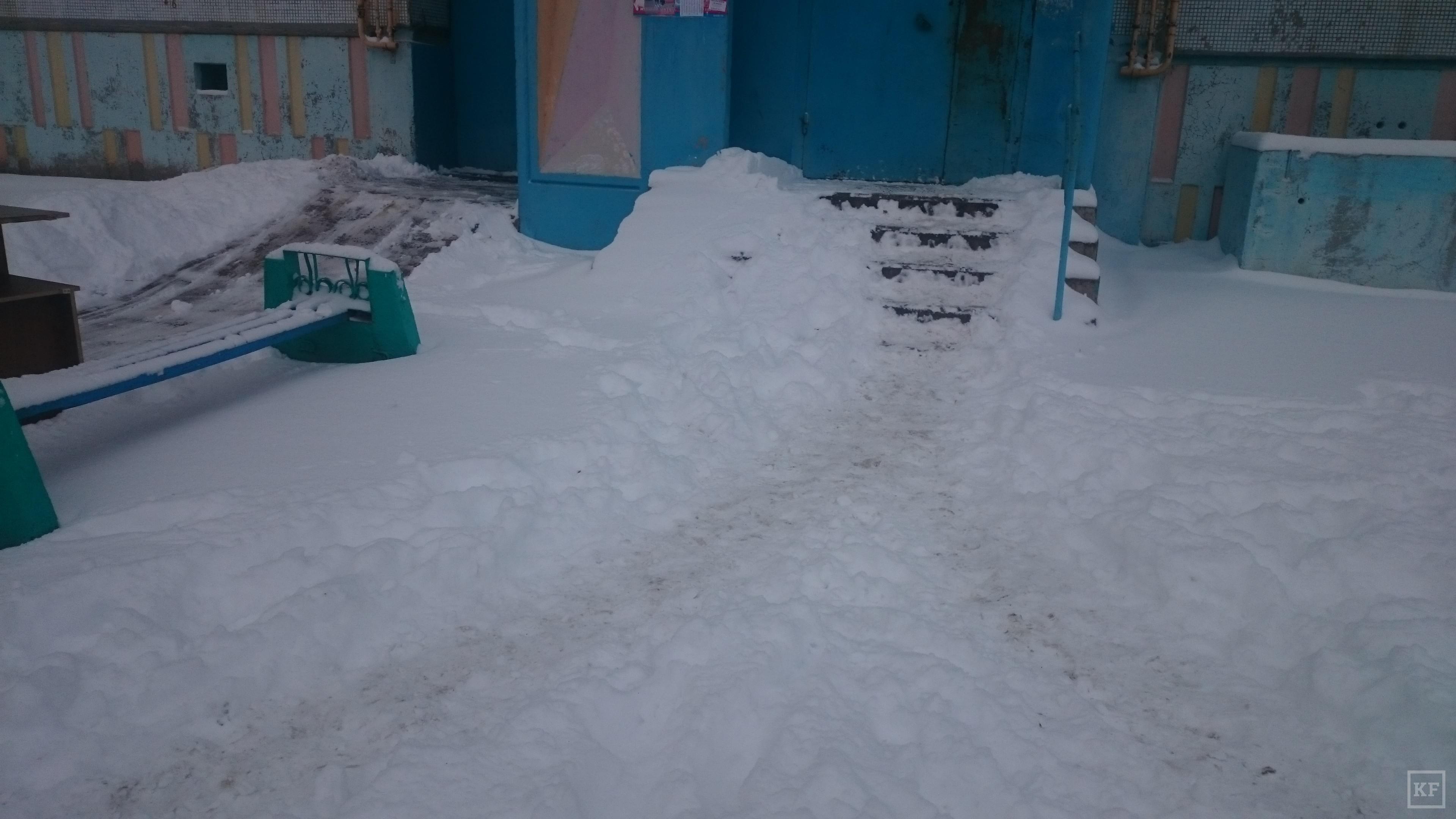 Октябрьский снежный коллапс в Набережных Челнах повторился
