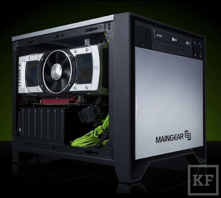 Компания Maingear представила свой десктоп с ускорителем Titan Z