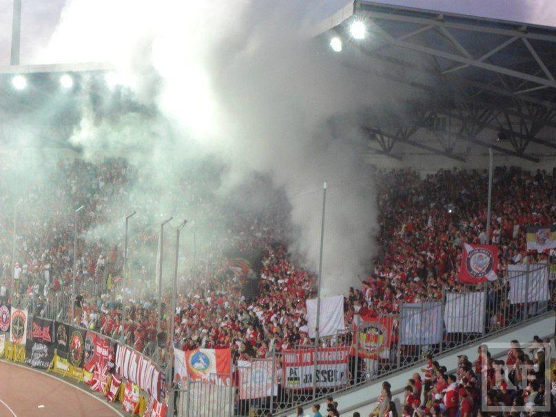 Рустам Минниханов: «Действия силовых структур были обусловлены неадекватным и вызывающим поведением некоторых футбольных фанатов»