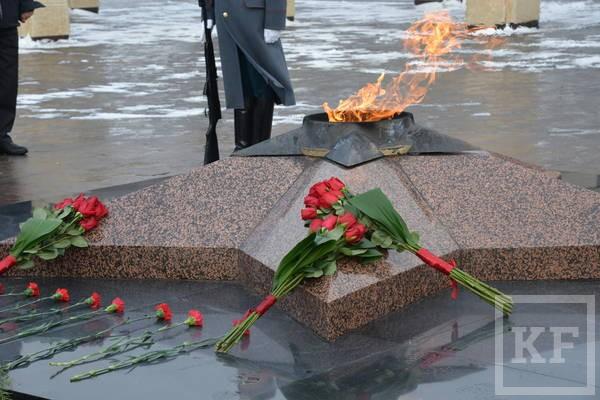 Митинг в честь Дня защитника Отечества прошел в Казани