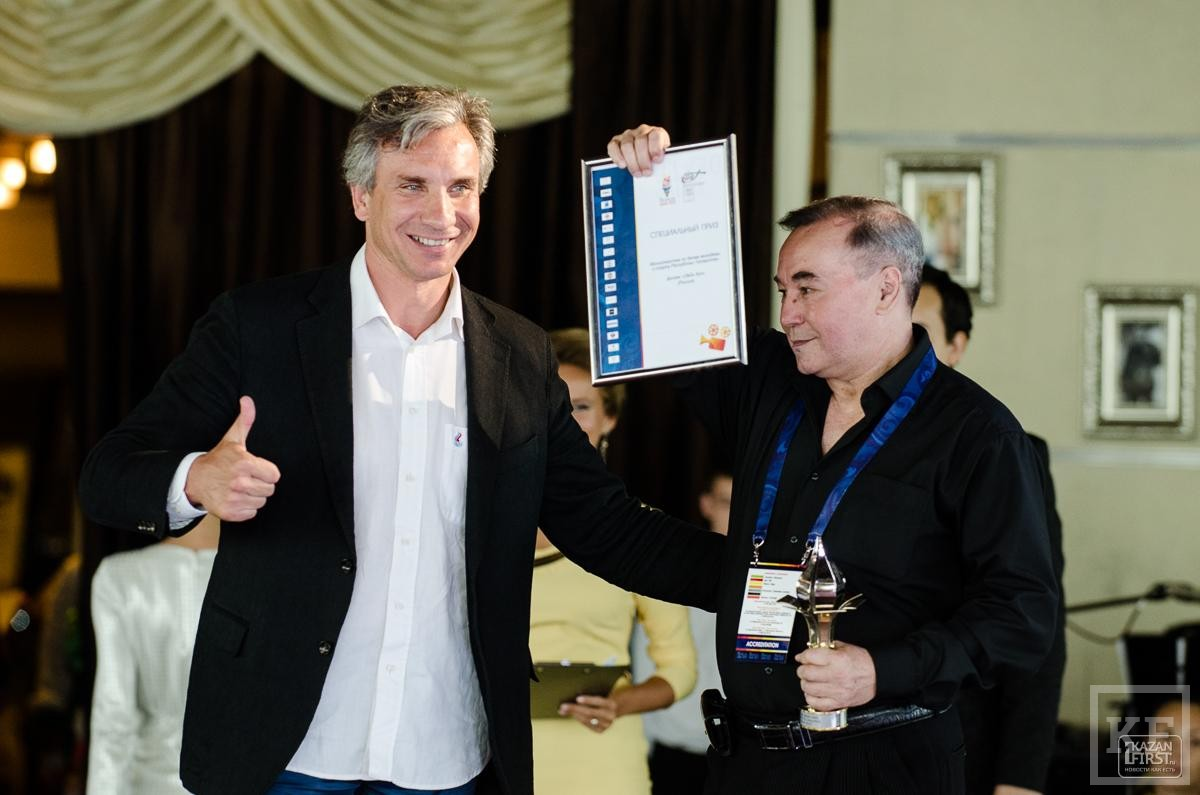 Церемония награждения 33-го Мирового финала Чемпионата FICTS Challenge 2015 в Казани