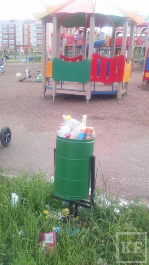 В Лениногорском районе не убирают мусор — «Народный контроль»